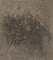 F36 - Graphite and Watercolour on Sandpaper - 14cm x 14cm - 2007
