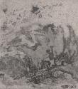 F7 - Graphite and Watercolour on Sandpaper - 14cm x 14cm - 2007