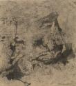 F74 - Graphite and Watercolour on Sandpaper - 14cm x 14cm - 2007