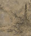 F77 - Graphite and Watercolour on Sandpaper - 14cm x 14cm - 2007