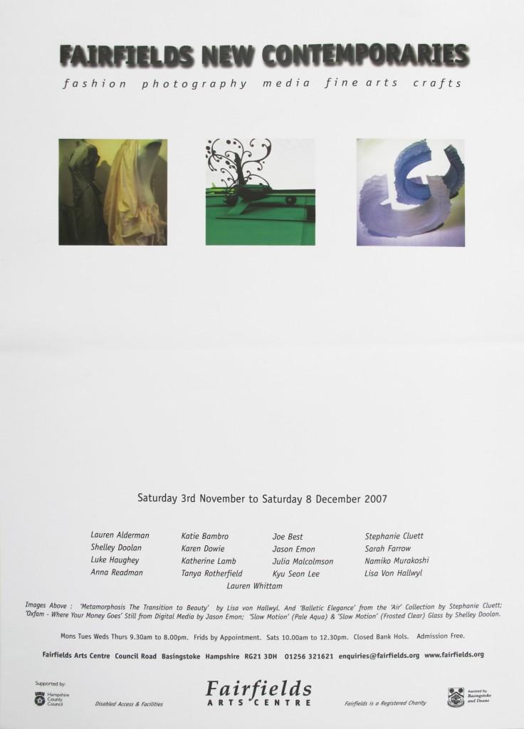 Fairfields New Contemporaries exhibition
