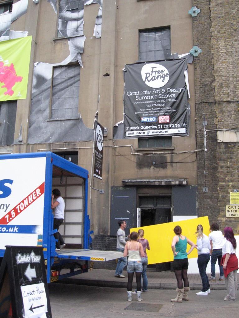 30 Degrees exhibition, Brick Lane London